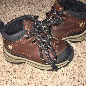 Timberland hiking boots!